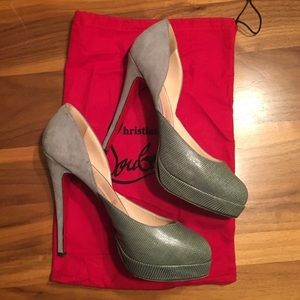 Christian Louboutin Runway Heels, size 39
